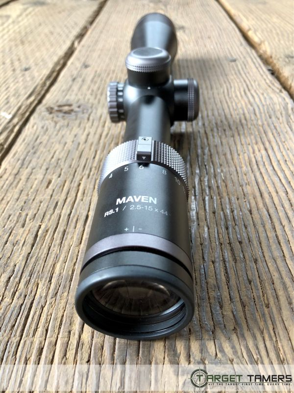 Eye peice on RS.1 rifle scope