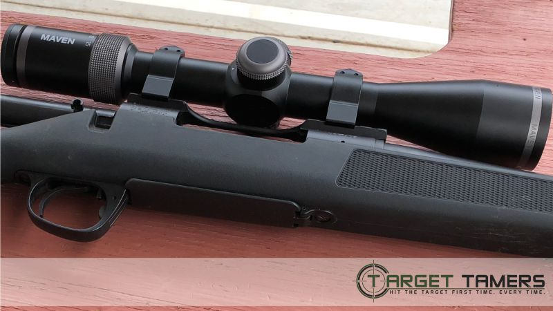 RS.1 riflescope mounted on Smith&Wesson 270