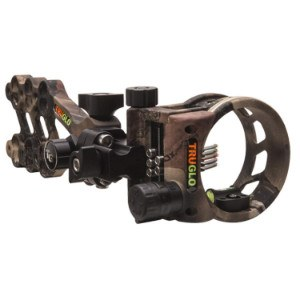 5 Pin hyperstrike bow sight in camo