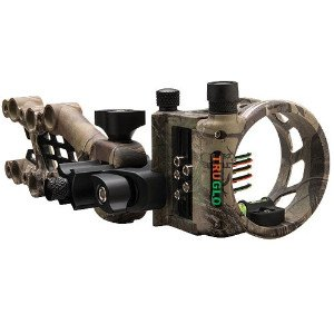 Camo colored Carbon Hybrid Bow Sight