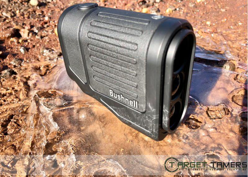 Bushnell Prime 1300 Sitting in Ice Puddle