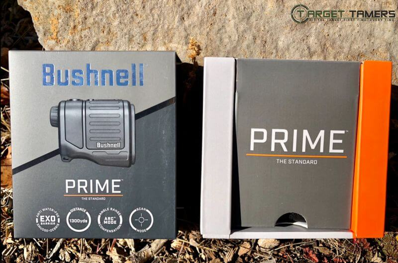 Bushnell Prime Rangefinder Packaging