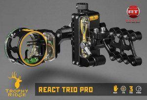 Trophy Ridge React Trio Pro Bow Sight