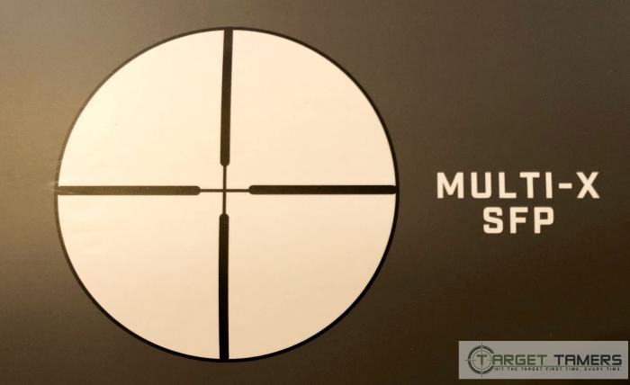 Bushnell Multi-X SFP Reticle