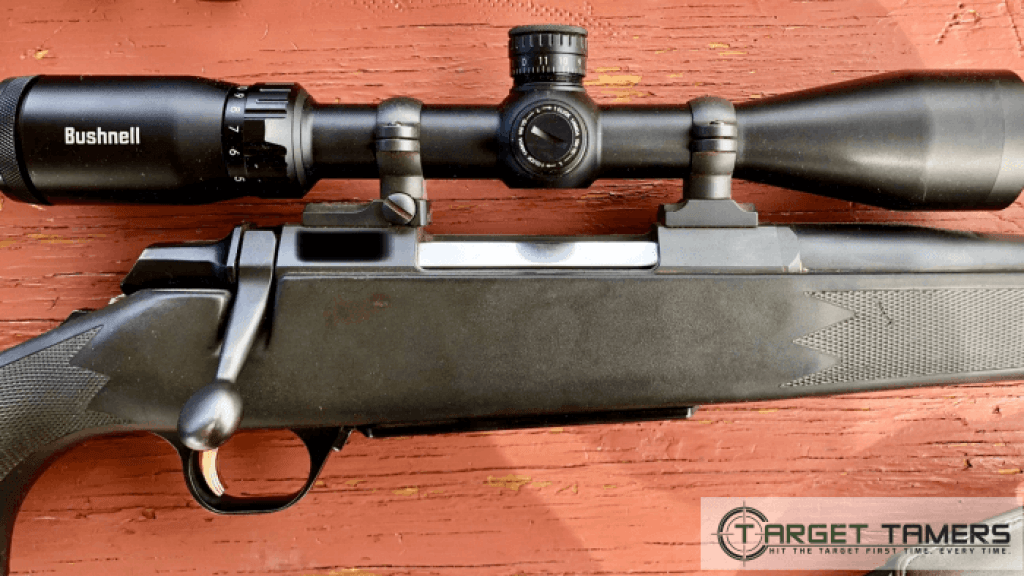 Bushnell Prime rifle scope on Browning .270 rifle
