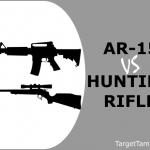 AR-15 Versus Hunting Rifles
