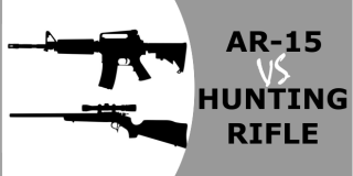 AR-15 VS Hunting Rifle – Same, Same But Different?