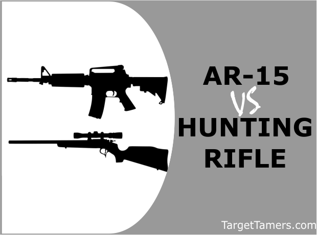 AR-15 Versus Hunting Rifles