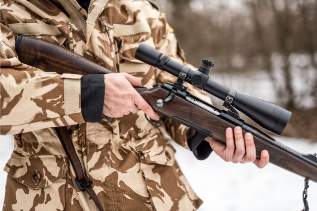 Bolt Action Hunting Rifle