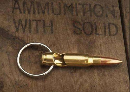 308 Bullet Bottle Opener Key Chain