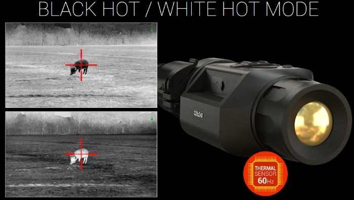 ATN TICO LT 320 35mm thermal clip-on scope