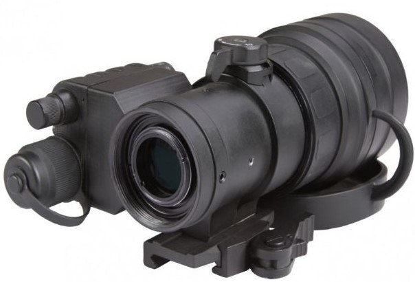 Back of the AGM Comanche 22 NL3 Clip on Night Vision
