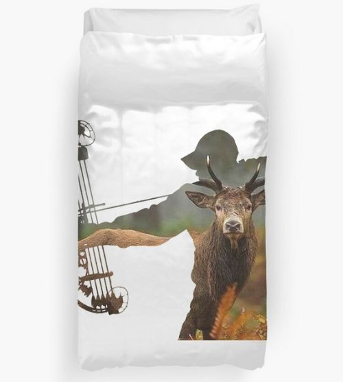 Bowhunter Gift Idea - Duvet Cover