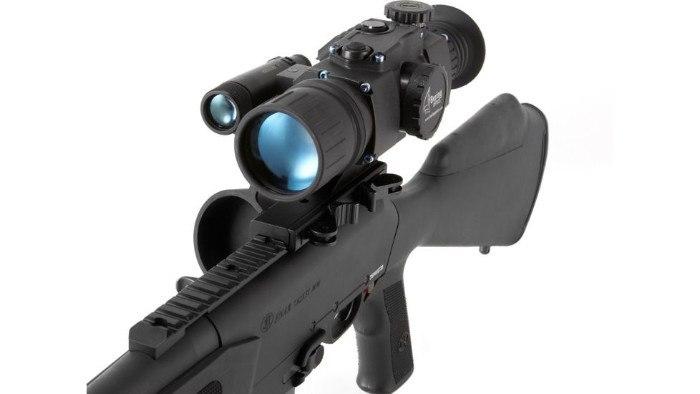 Bering Optics Trifecta 3x50 night vision scope in black
