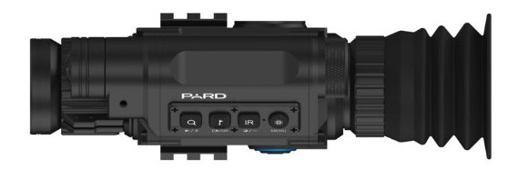 Controls of Pard NV008 Night Vision Scope