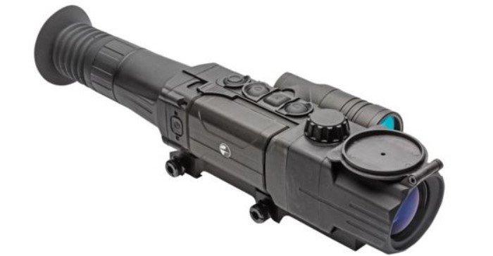 Pulsar Digisight Ultra N455 digital night vision scope in black color