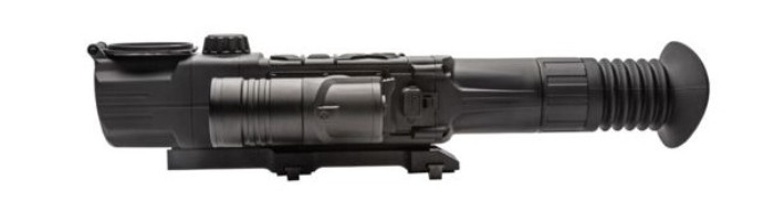side on view of digisight ultra N455 digital night vision scope