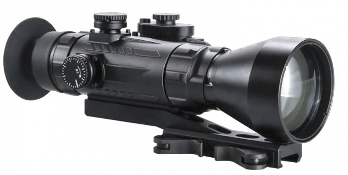 AGM Wolverine PRO-4 NL1 Night Vision Rifle Scope Side On