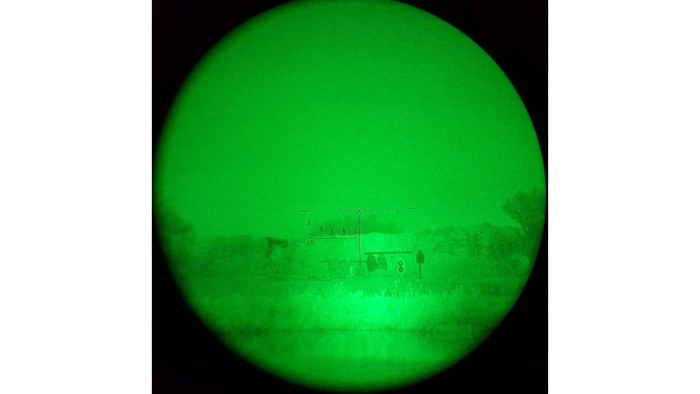 Looking through a Wolf Performance Optics WPA PN22K Day and Night Scope