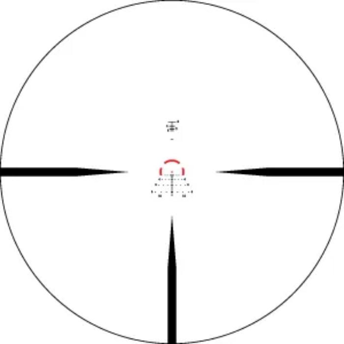 Reticle on Vortex Strike Eagle 1-8x24 AR BDC3 Riflescope