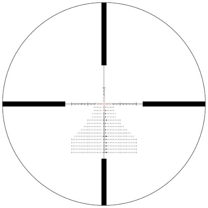 reticle on Bushnell Match Pro 6-24x50 scope