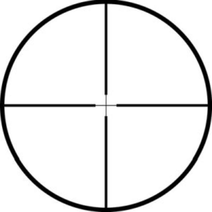 reticle on Mueller APV 4.5-14x40 AO scope