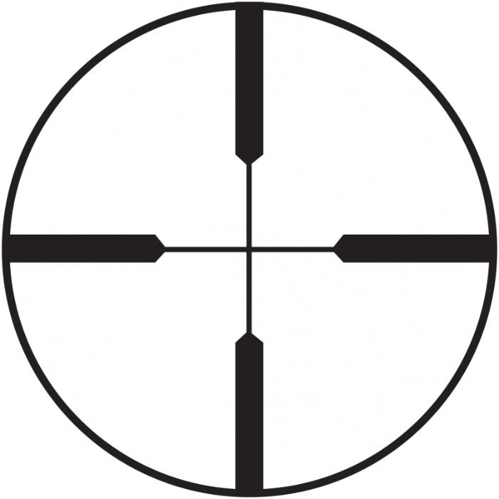 Heavy Plex reticle on Burris Scout 2.75x20 scope