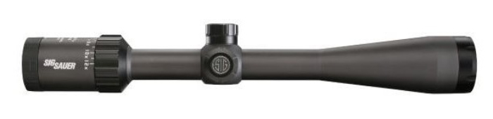 Sig Sauer Whiskey3 4-12x40 riflescope side on