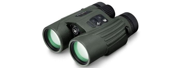 Fury HD 5000 AB rangefinder binoculars in green and black