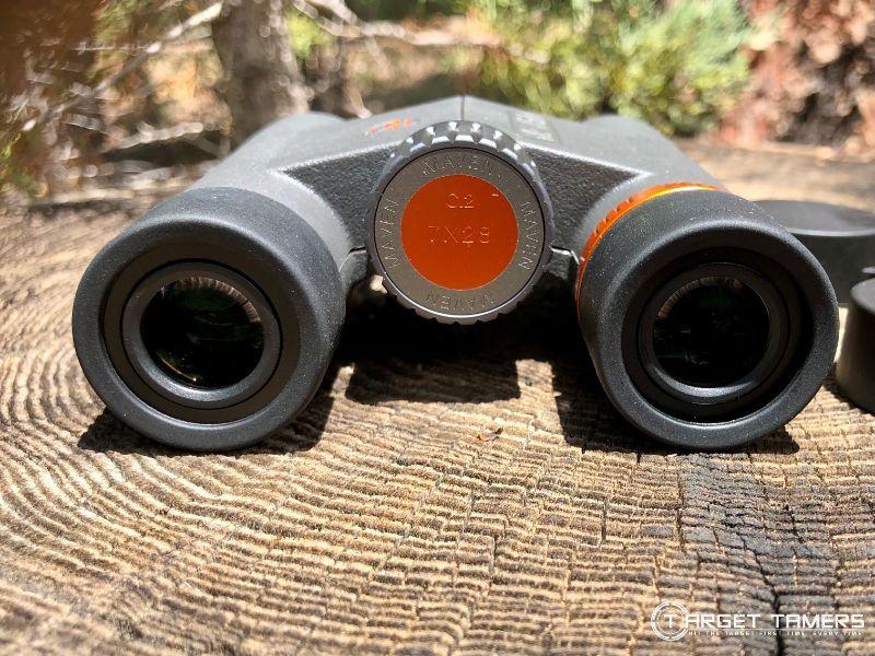 Focus Wheel on the Maven C.2 7x28 binoculars(1)