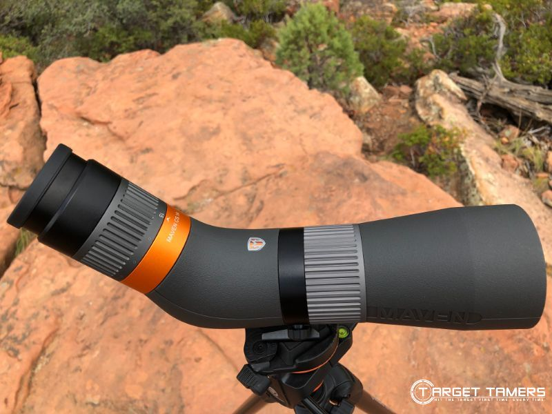 Maven CS.1 15-45x65 spotting scope during field test