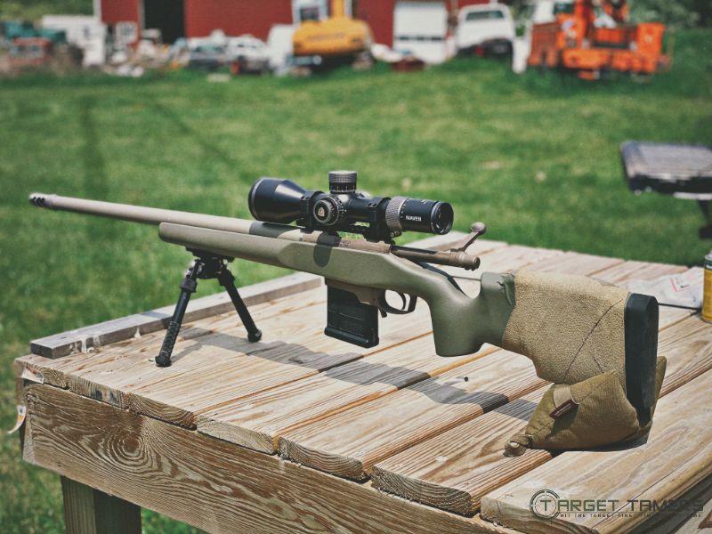 Maven RS.4 5-30x56 FFP scope mounted on 6x47 Lapua