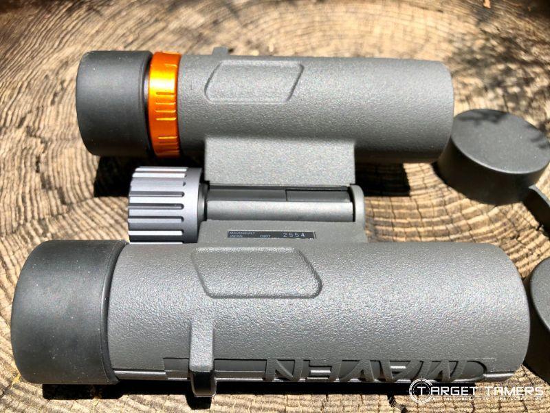 Underneath Maven C.2 7x28 binoculars