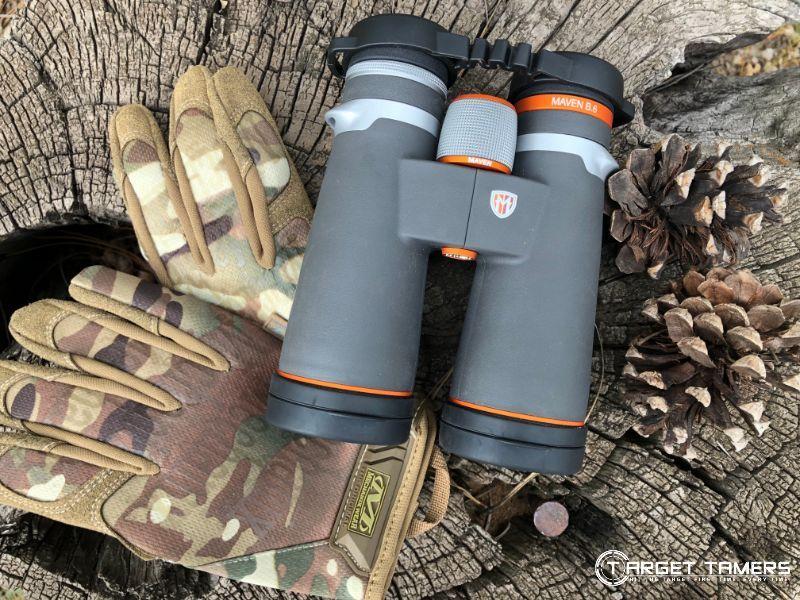 B.6 12x50 binoculars by Maven