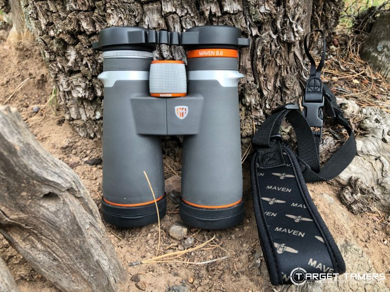 Maven B.6 12x50 binoculars with neckstrap