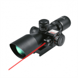 CVLIFE Hunting Rifle Scope 2.5-10X40e w/ Red & Green Illuminated MIL-DOT Reticle