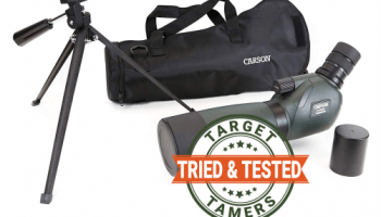 Carson 15-45X60mm Everglade SS-560 Spotting Scope Review (Field Test)
