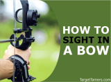 How to Sight in a Bow (Fixed & 1-Pin) & What Distance To Set Your Pins At