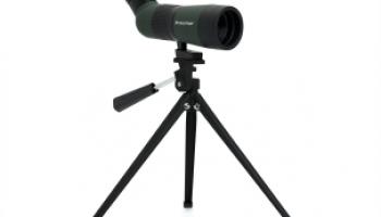 Celestron LandScout 10-30x50 Spotting Scope (Angle Bodied For Under $100)