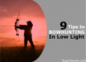 9 Tips For Bow Hunting in Low Light (& The Best Low Light Bow Sight Revealed)