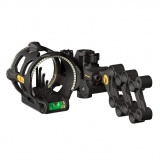 Trophy Ridge React V5 Bow Sight With Vertical Pin Sight (Micro Adjustable Windage & Elevation)